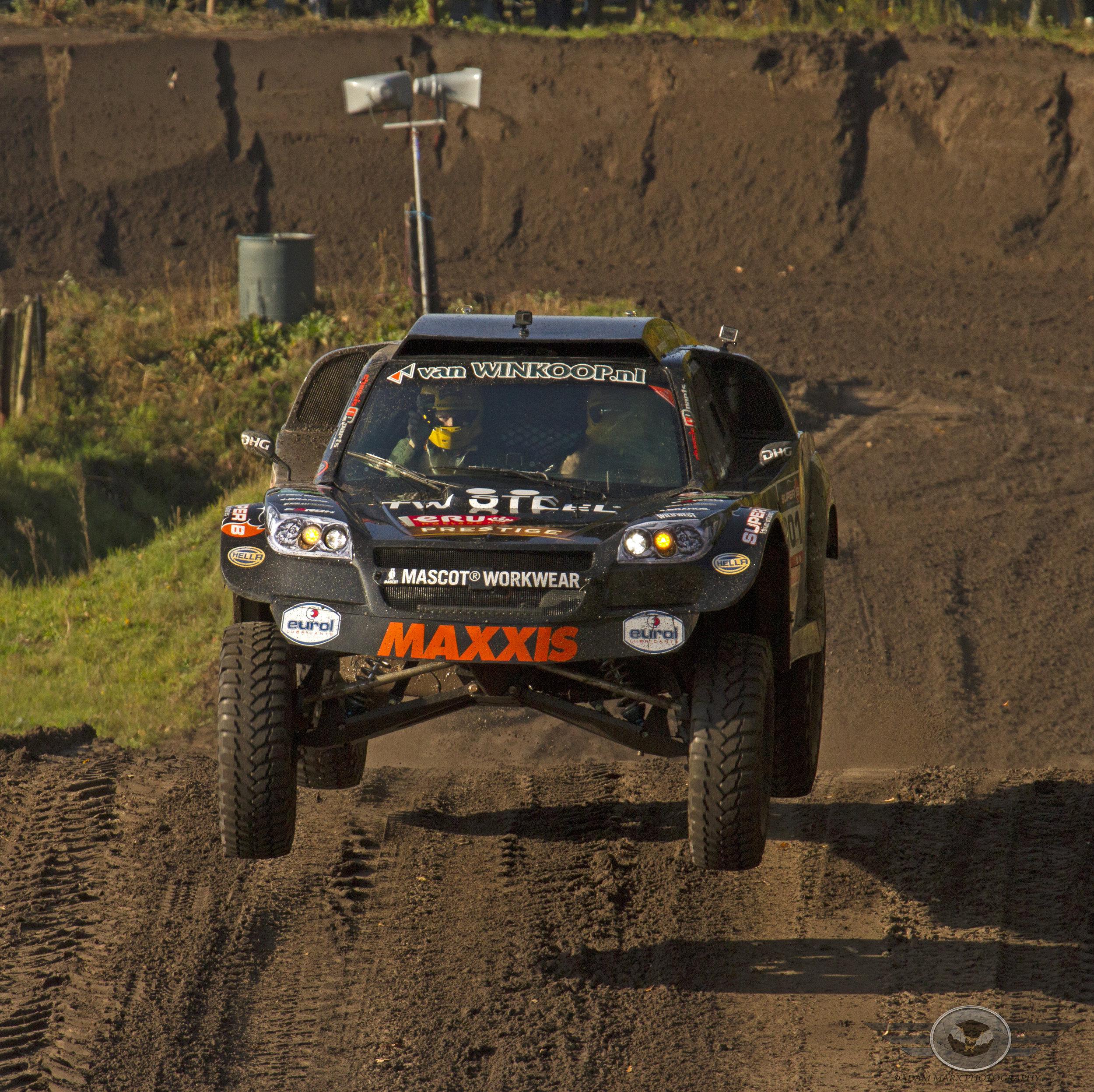 """the Beast""   Jefferies Dakar rally buggy from the Twins Tim & Tom Coronel."