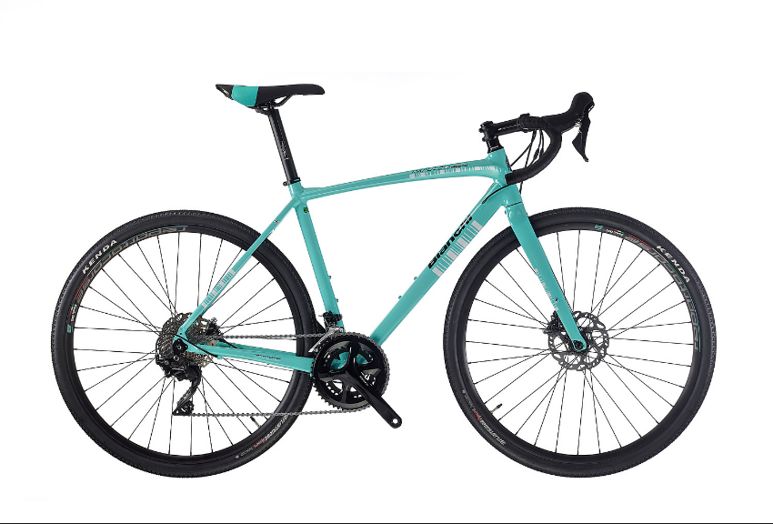 Bianchi Impulso Allroad 105 11speed - Triple Butted 6061 Aluminum Frame and Carbon Fork with Shimano 105 groupset and hydraulic disc brakes & thru axles