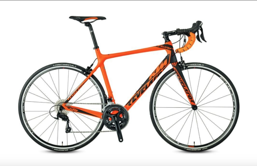 KTM Revelator Alto Carbon 11speed - Carbon Frame and fork with Shimano 105 groupset