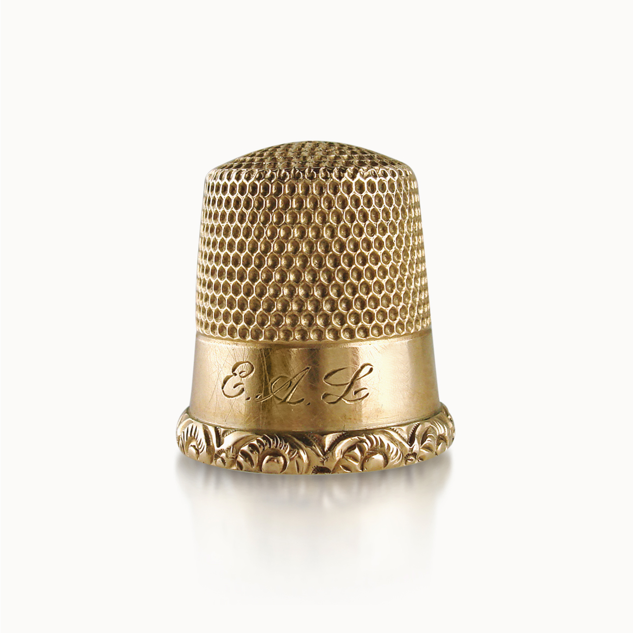 VICTORIAN GOLD THIMBLE