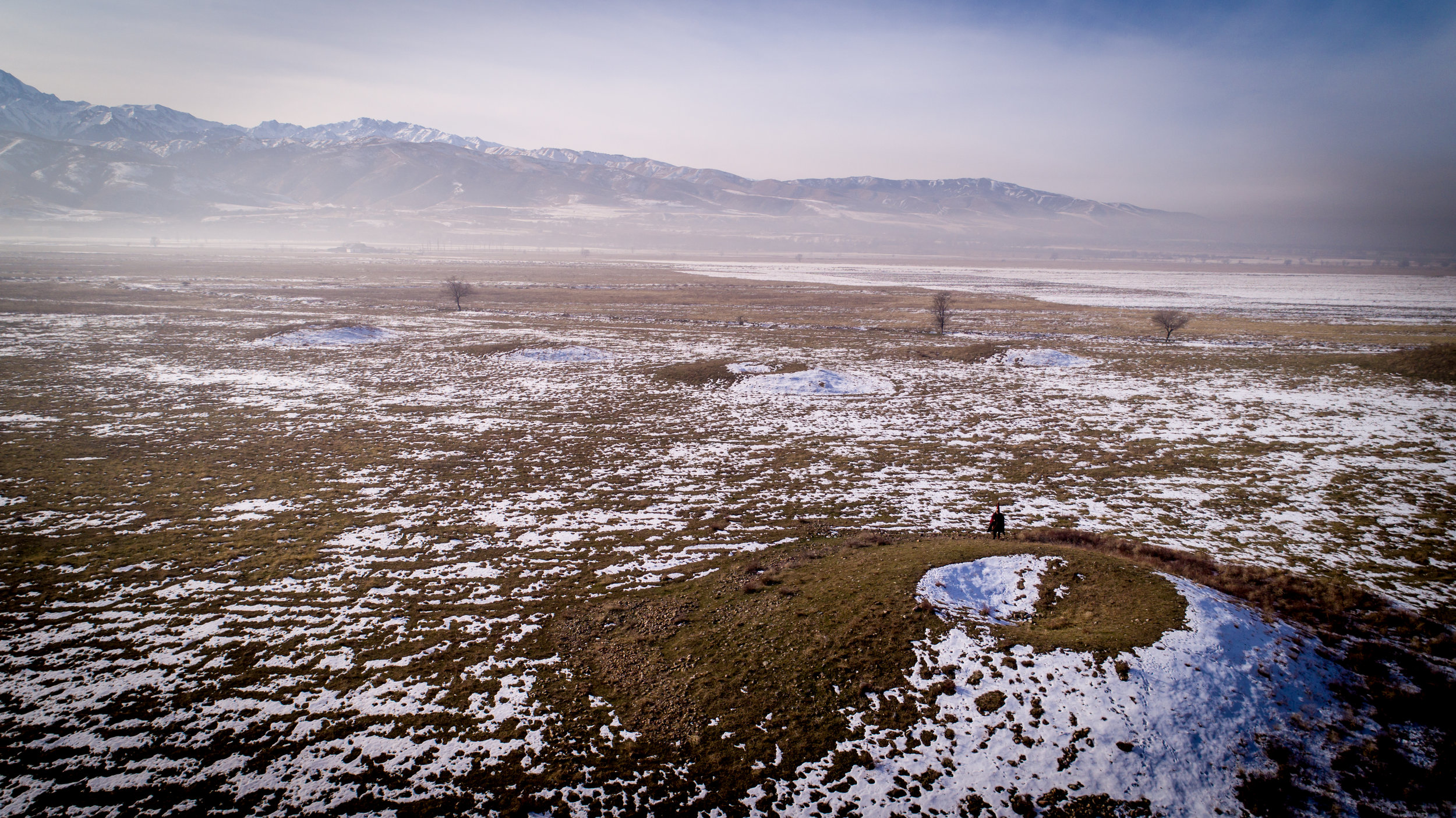 Issyk Burial Ground, taken with Phantom 4 Pro