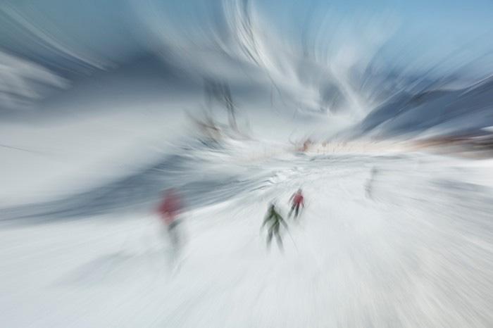 Anatoly Rudakov - Ski Piste on Stubai Glacier