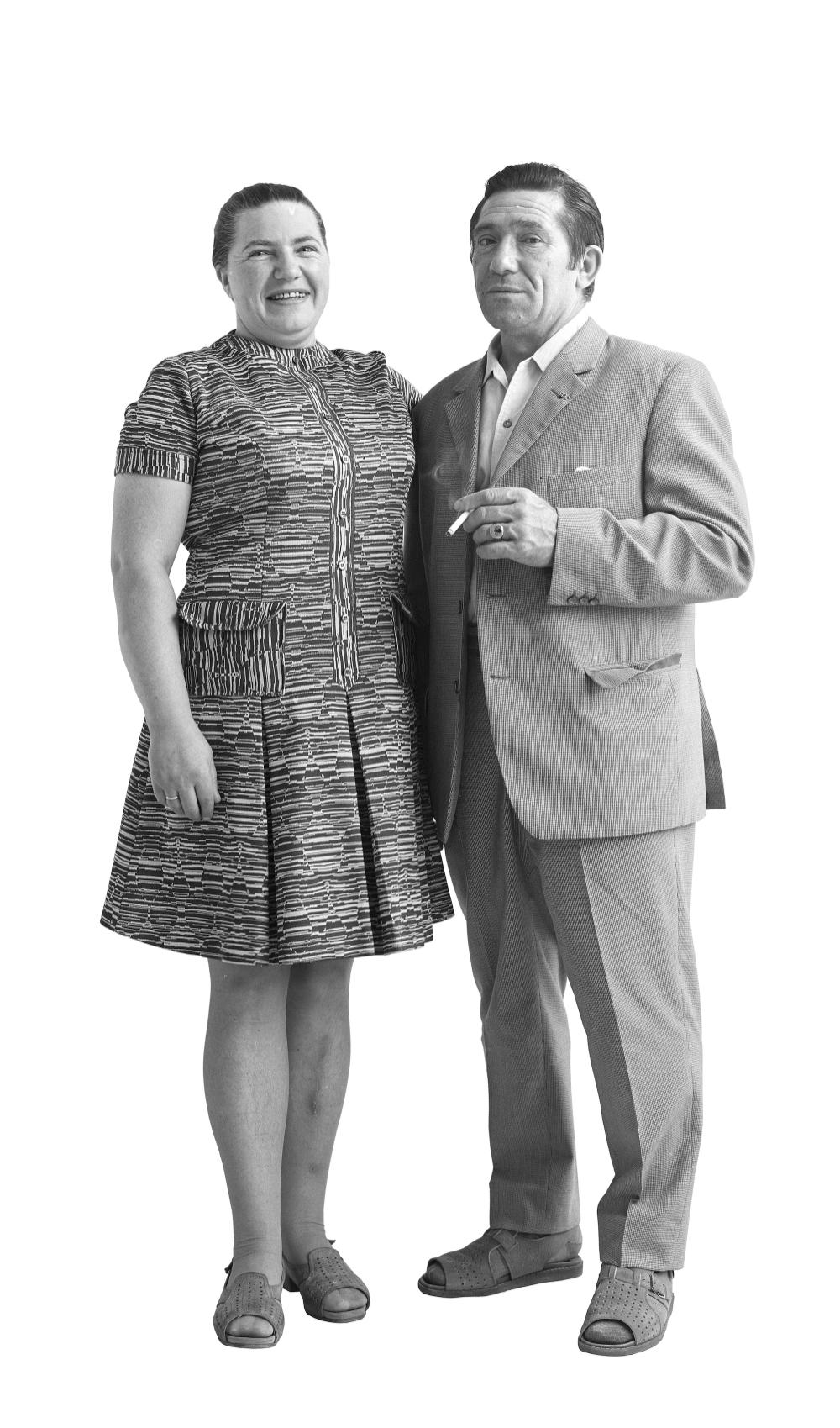Beate Rose, Inhaberin eines Milchgeschäfts 41. Molkereifachmann 51, 1971