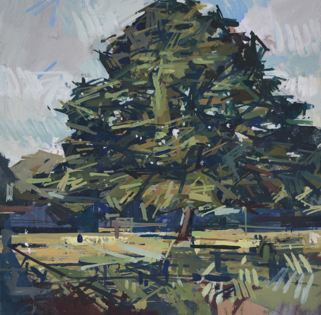 Joseph A. Ryan, Yew Tree (Study no. 2), 2015
