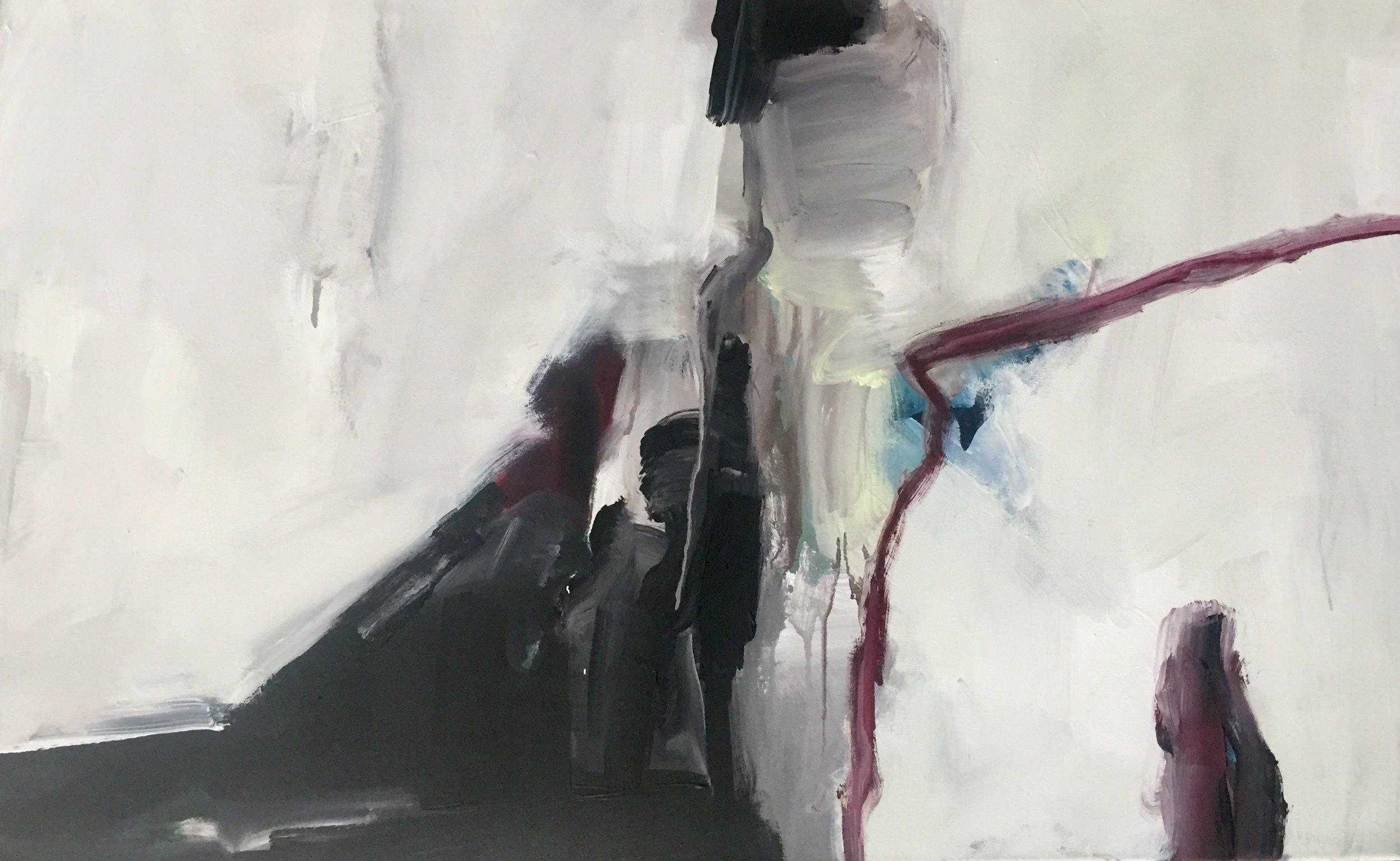 - Josef ThalhoferLandschaft, Acryl auf Leinwand, 2018