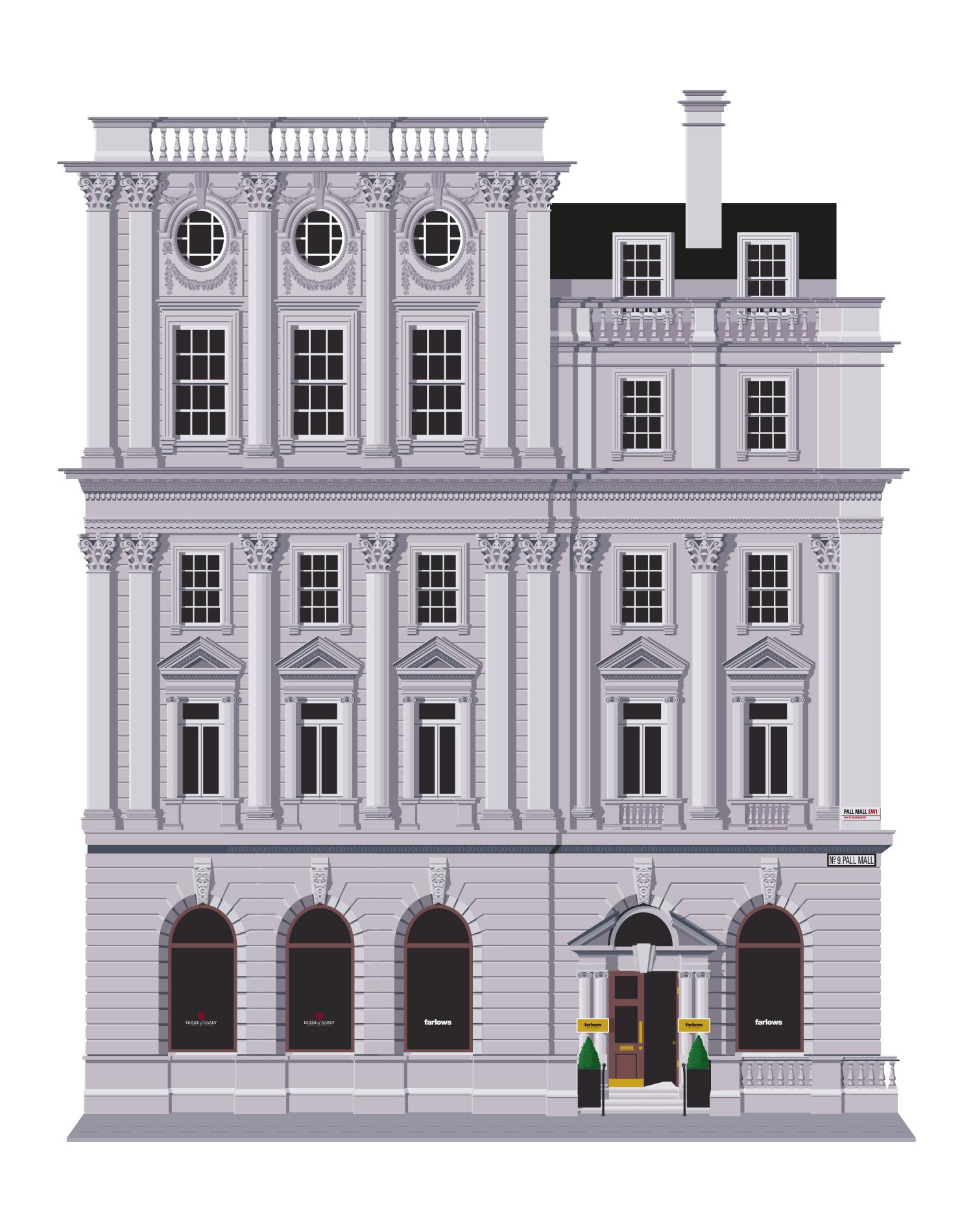 Adobe Illustrator vector drawing
