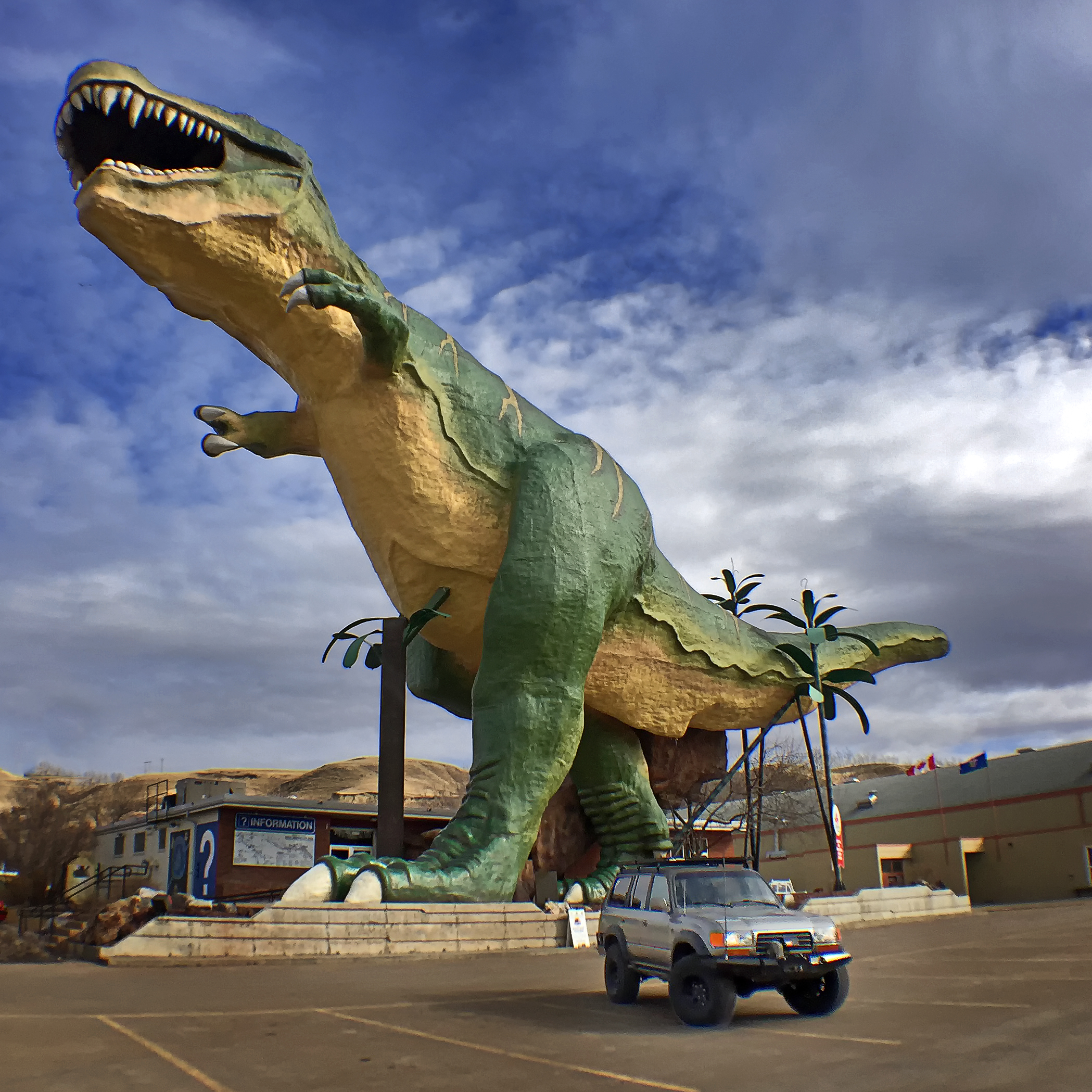 World's Largest Dinosaur - Photo Taken with an iPhone