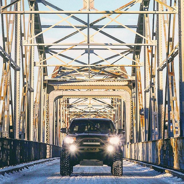 Architectural Taco Tuesday • • • @evanpeddie working all the angles with this photo of his Tacoma on a truss bridge. • • • Photo by @evanpeddie • • • Also, big thanks to everyone using the #untitledoffroad hashtag! You are all killing it with your photos and we really appreciate you using the hashtag and tagging us directly in your photos. . . . . . . #yyc #calgary #loveyyc #tacoma #tacotuesday #tacomatuesday #4x4 #offroad #wheeling #bridge #trussbridge #adventure #roadtrip #overland #expedition #instagood #explorewildly #getoutside