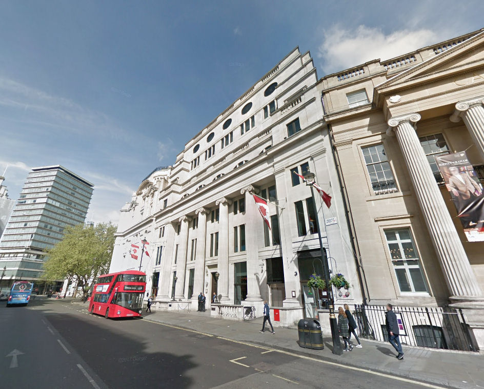 2-4 Cockspur Street, London