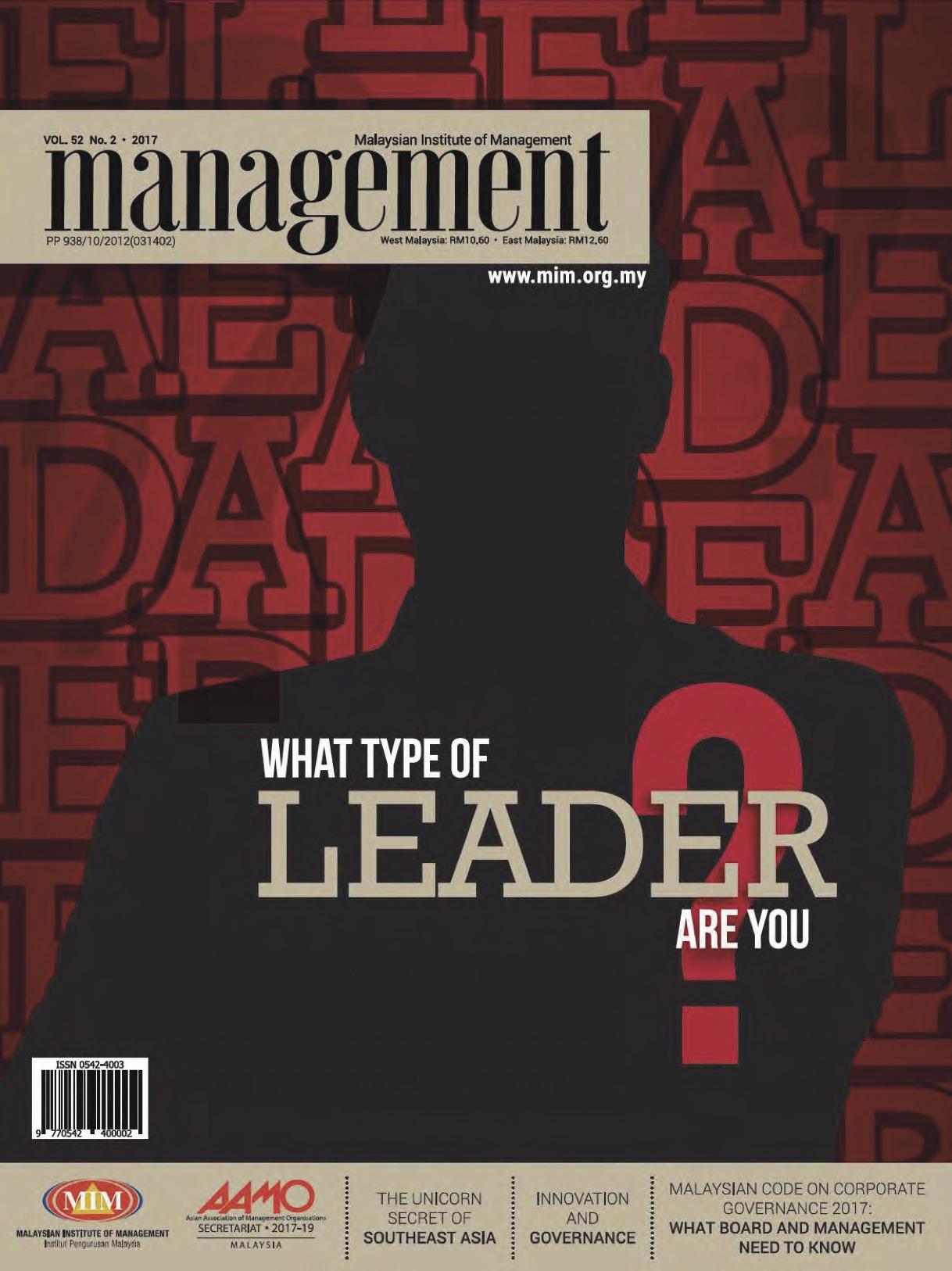 SUSTAINING IMPACT AND REMAINING RELEVANT - MIM Management Magazine, pg 18