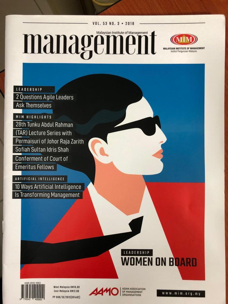 Workplace Loyalty: We Have To Do Things Differently. - MIM Management Magazine, pg 26