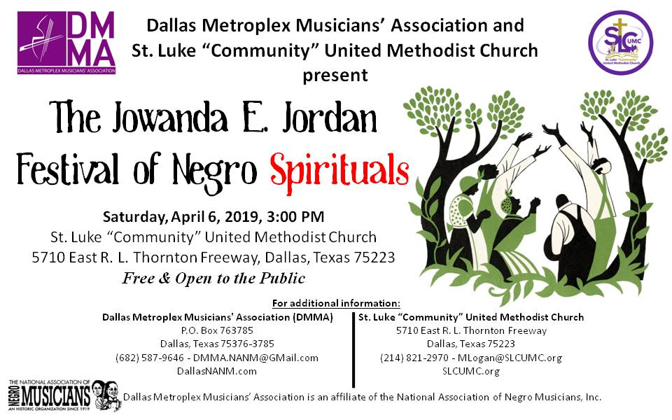 Jowanda Jordan Festival of Negro Spirituals 2019 - Flyer 20190323-01.jpg