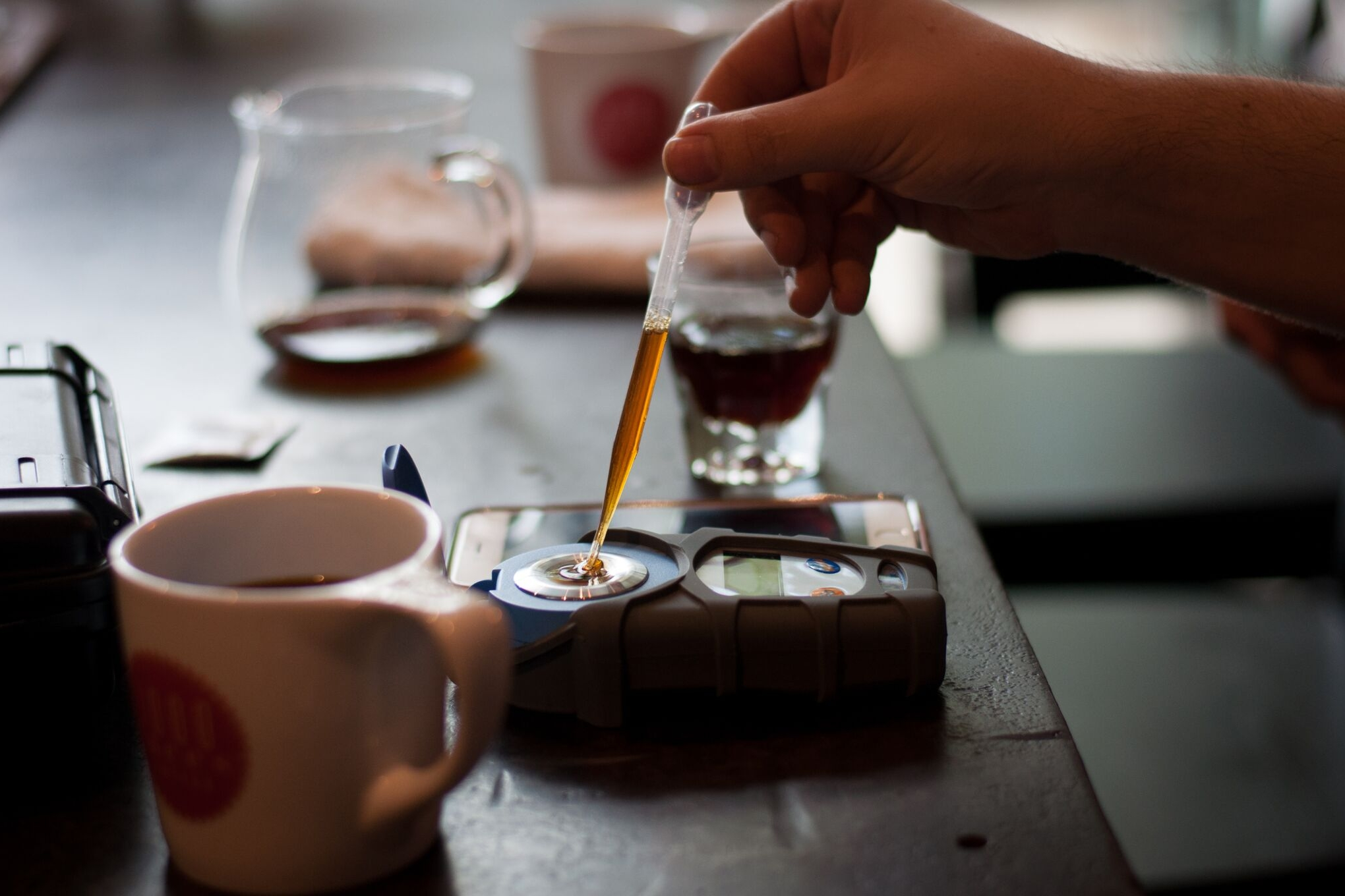 Quality has improved even further through cuppings and testing extraction.