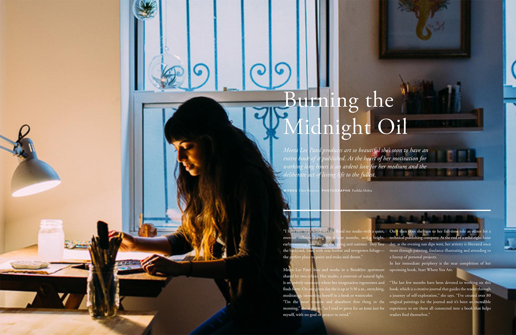 Meera Lee Patel for Trouve Magazine