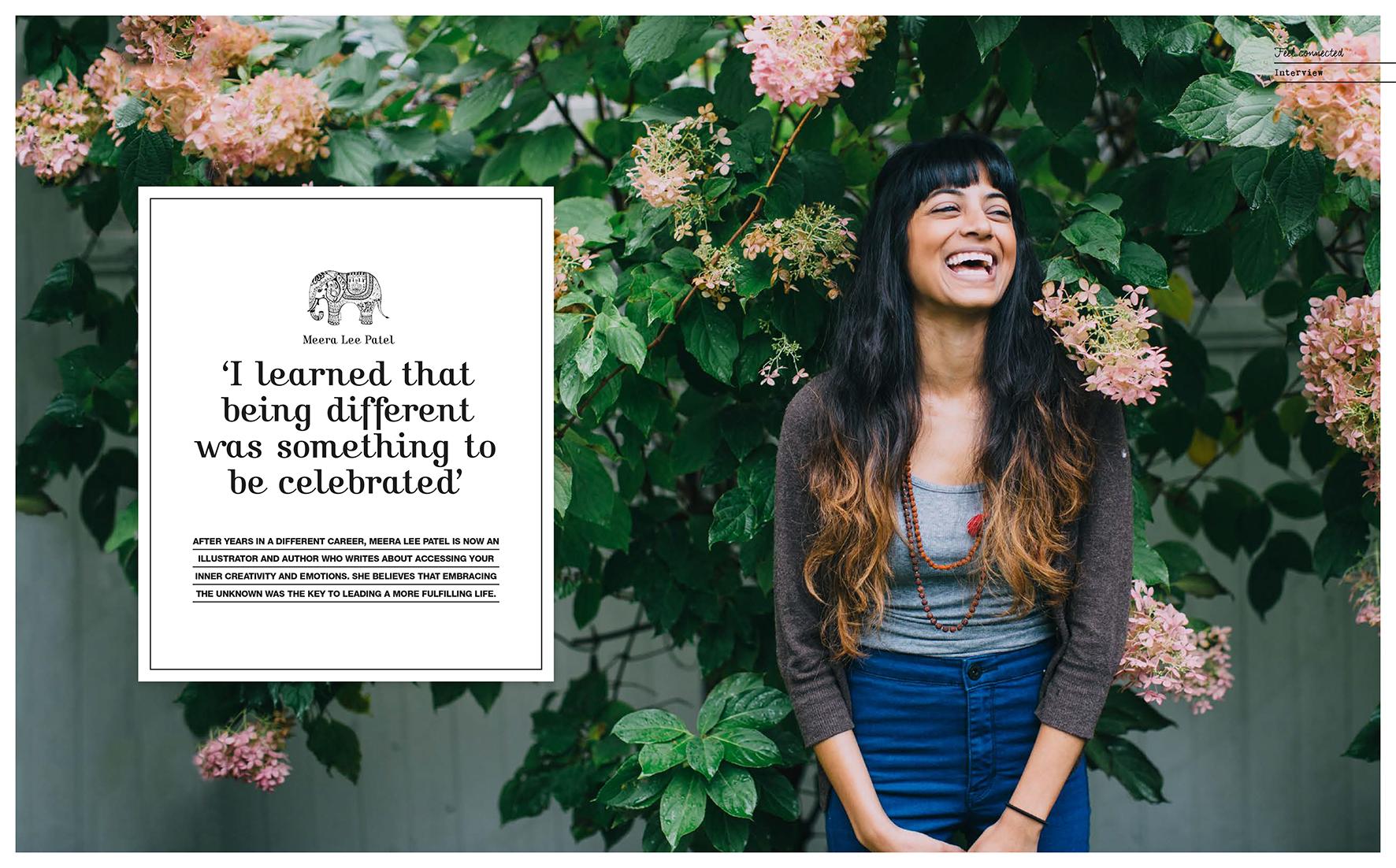 Meera Lee Patel for Flow Magazine