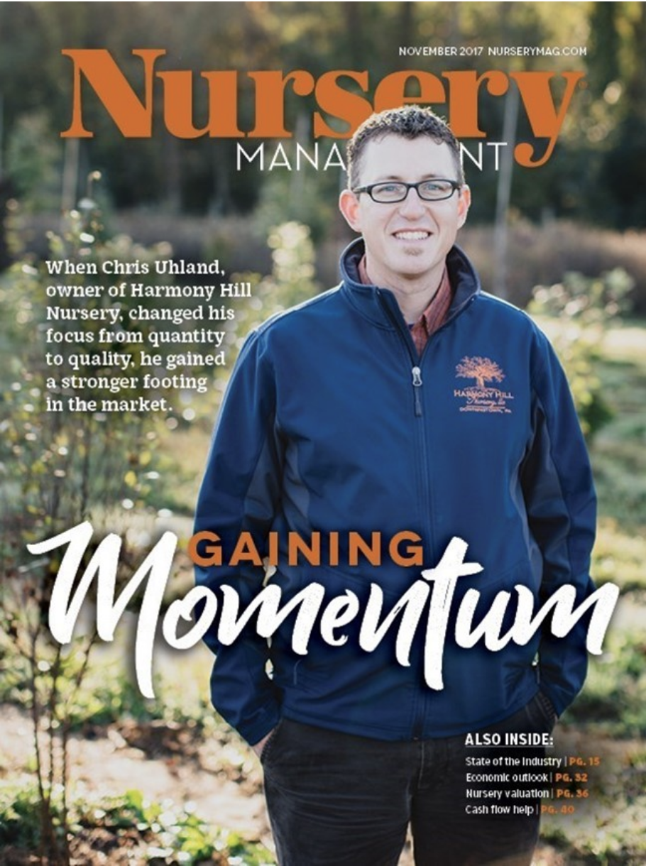 harmony hill nursery for nursery management magazine