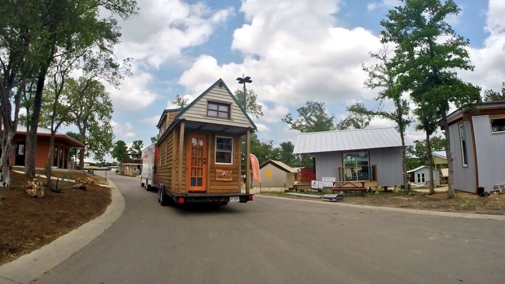 TinyX arrives at community first! Village in Austin
