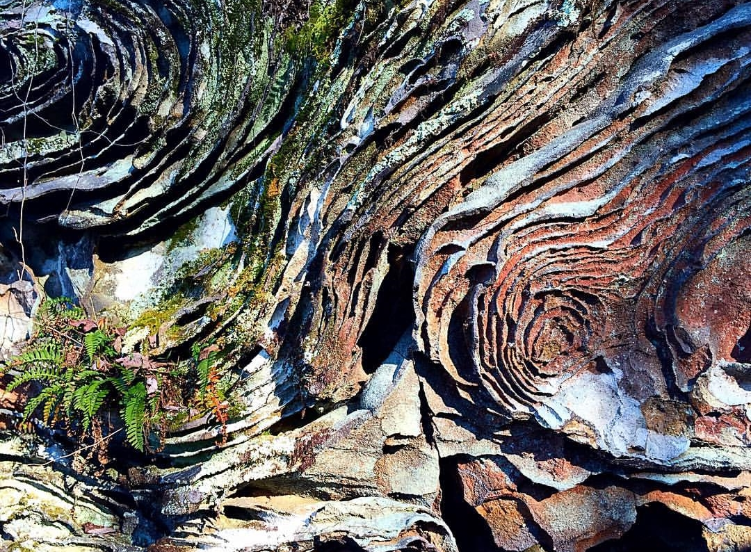 exquisite rock formation is a small sample of the many natural wonders of chisel rock