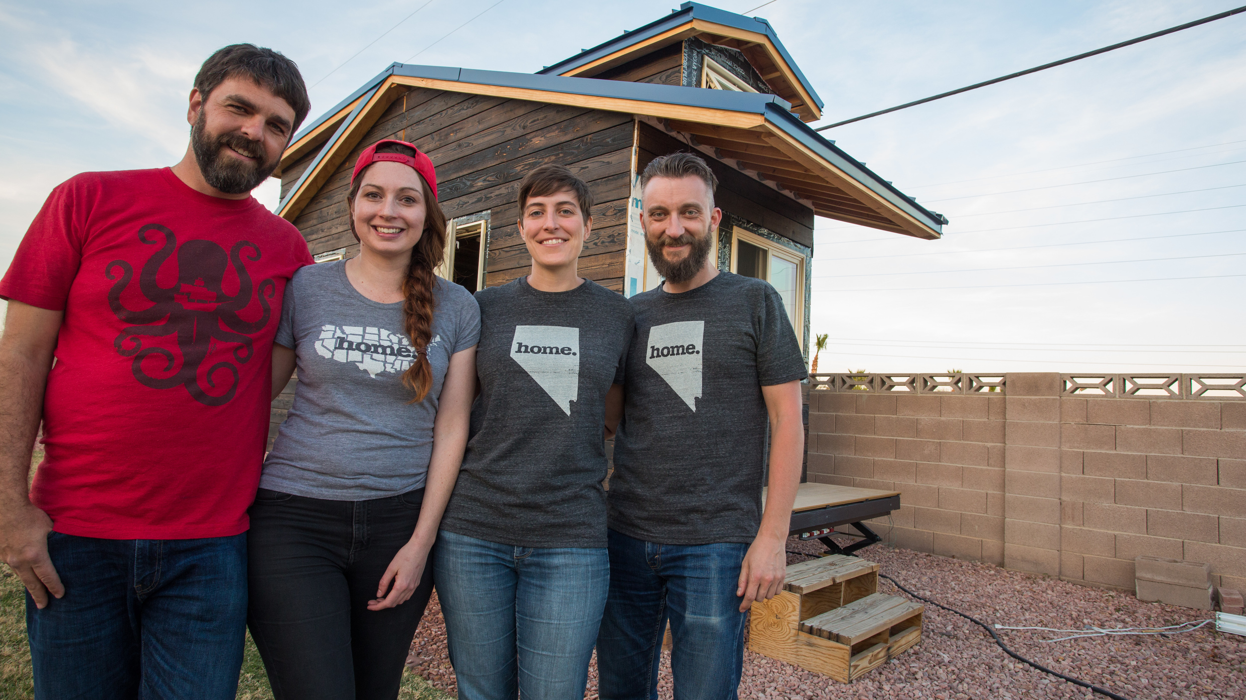 With Megan & Jeff of  Room to Spare TIny House
