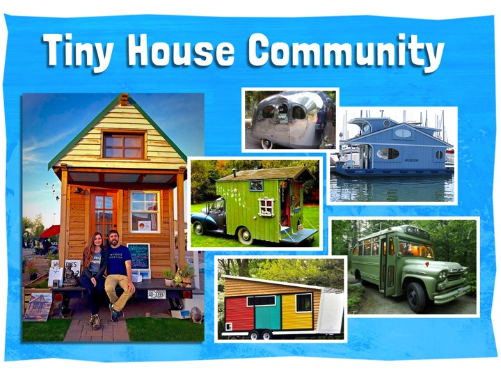 """Inspiration for """"The Big Adventures of Tiny House"""" characters"""