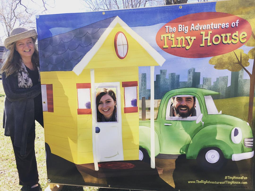 Tiny House Expedition with Susan at the Georgia Tiny House Festival. Photo by Kevin Polk