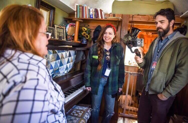 Touring Shorty's Victorian Themed Tiny Home, Nawaka. Photo by Mandy Lea Photo