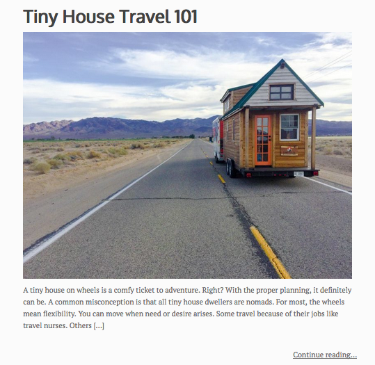 7 things you need to know before you hit the road— our guest post on Tiny house blog