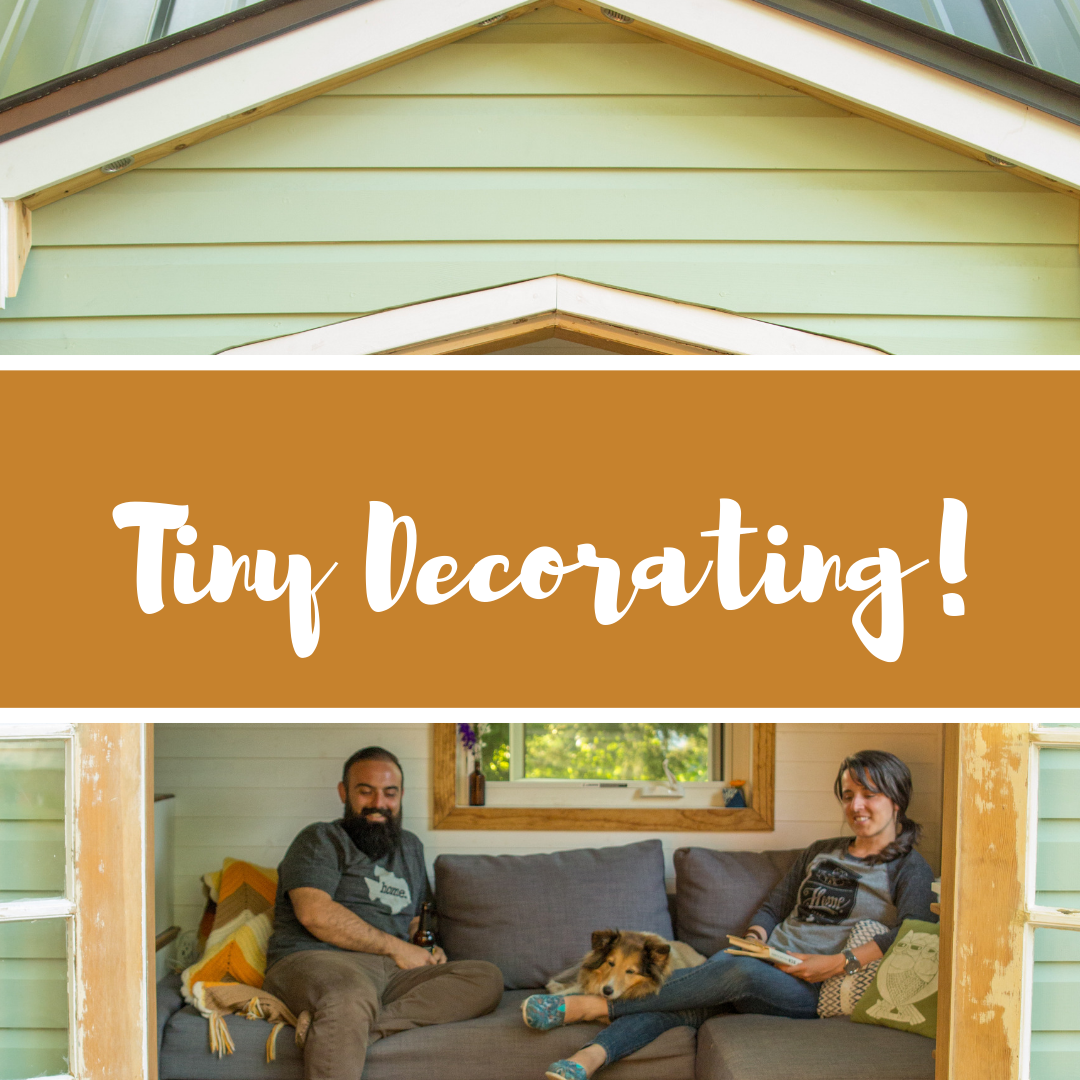 Home decorating ideas and tips that will make decorating less of a challenge in these small or tiny spaces.