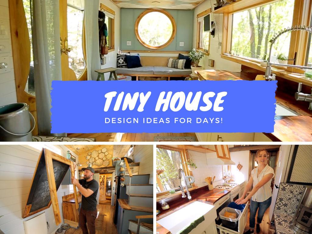 Click for tiny house design and storage ideas