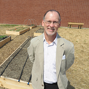 Chris Sonne, of Civil & Environmental Services, was the engineering lead for the project.