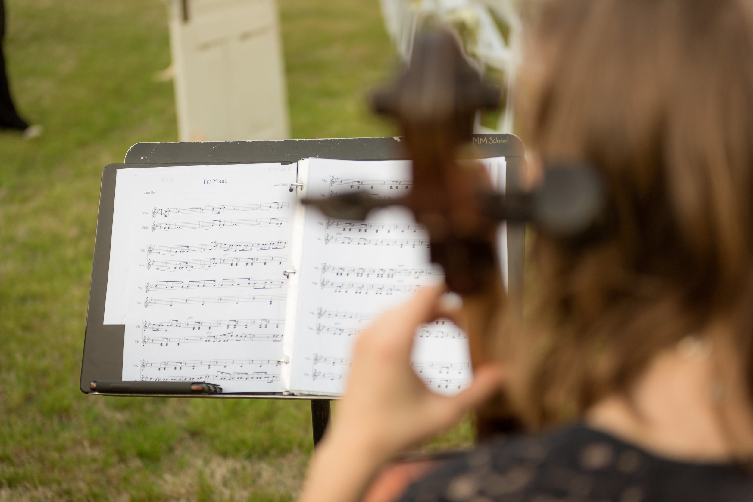 Rolling Hill Farms, Ceremony Music
