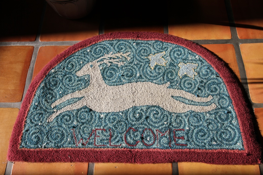 Welcome Rug Hooking by Alex Lear