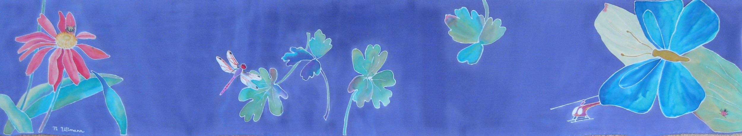 Silk painting by Nancy Ullmann