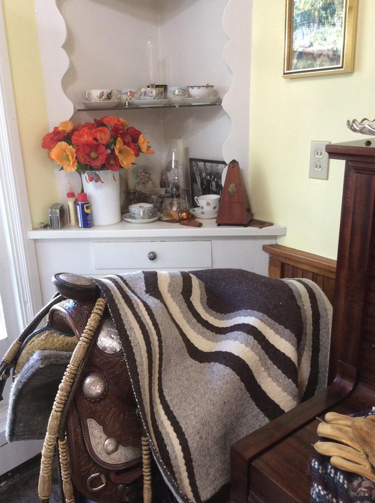 Saddle Blanket by Mara Bishop Statnekov