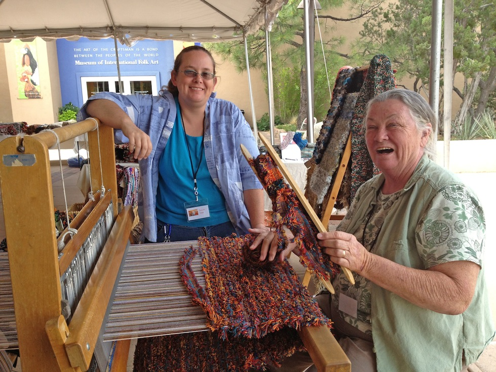 Rag Rug Festival at Museum Hill, August 2014