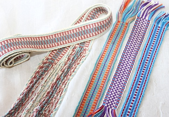 Inkle weaving by Melinda Bell