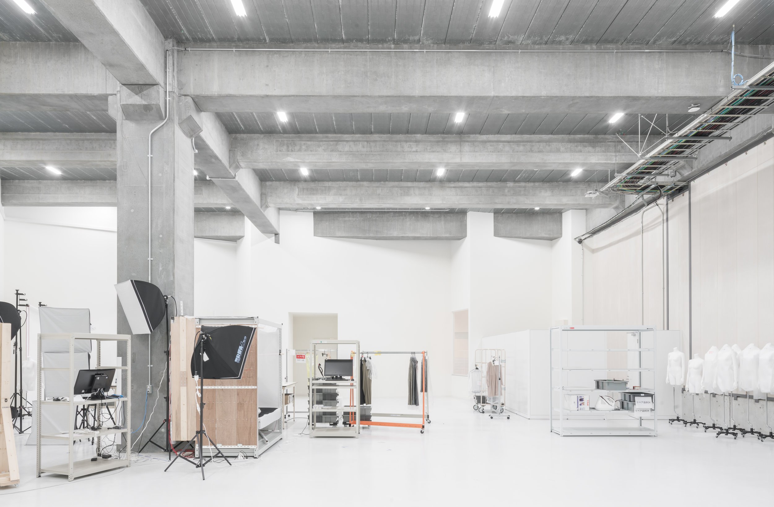 Full Expanse of the Photo Studio (in use)