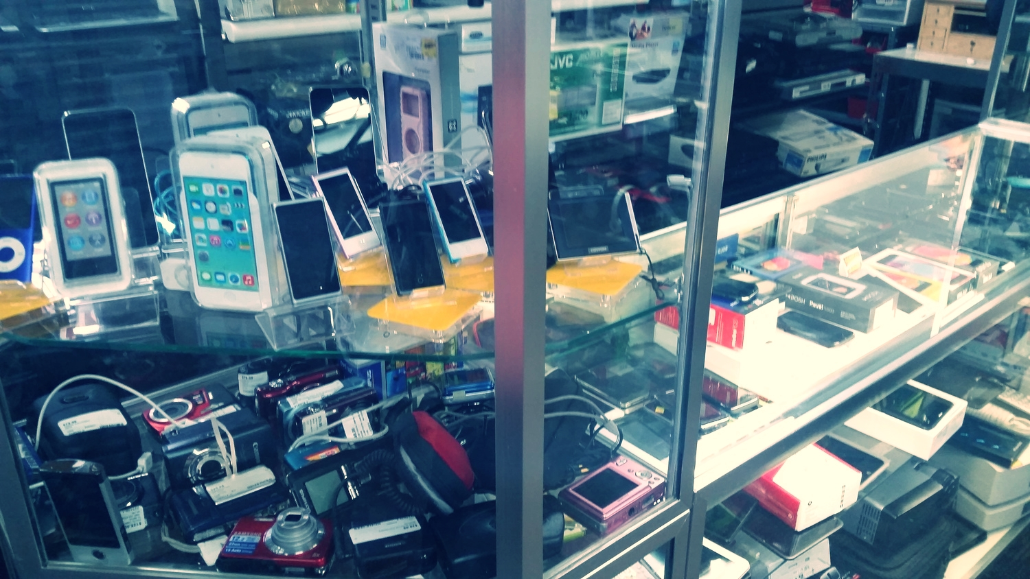 We have new and used Ipod's and digital cameras