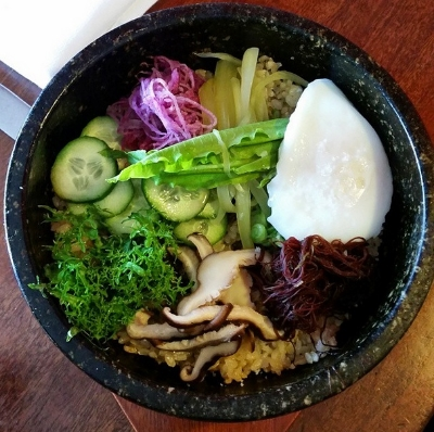 Hot Stone Rice Bowl at WILD at Canele