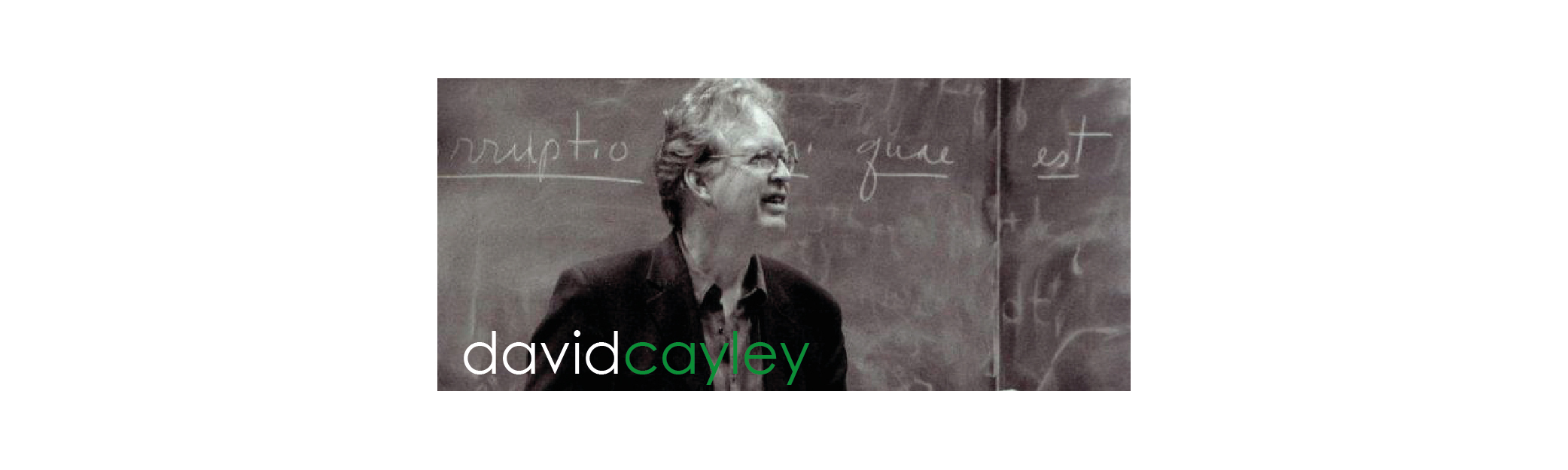 David Cayley For more than thirty years (1981-2012) I made radio documentaries for CBC Radio's Ideas series.