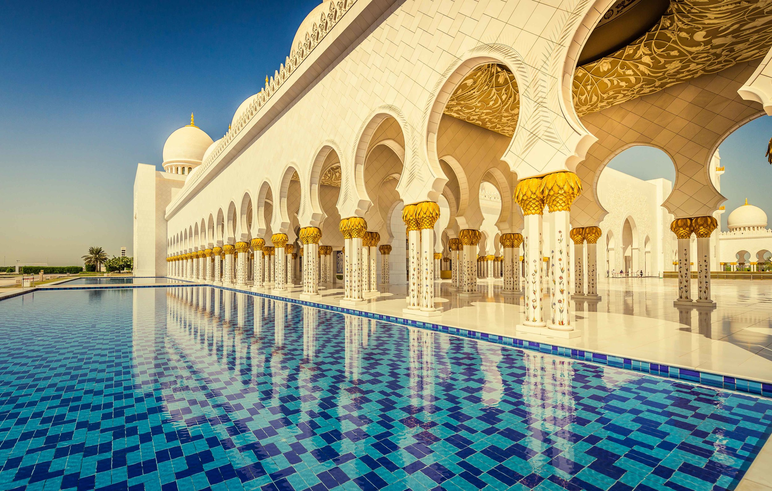 Sheikh Zayed Great Mosque - Abu Dhabi