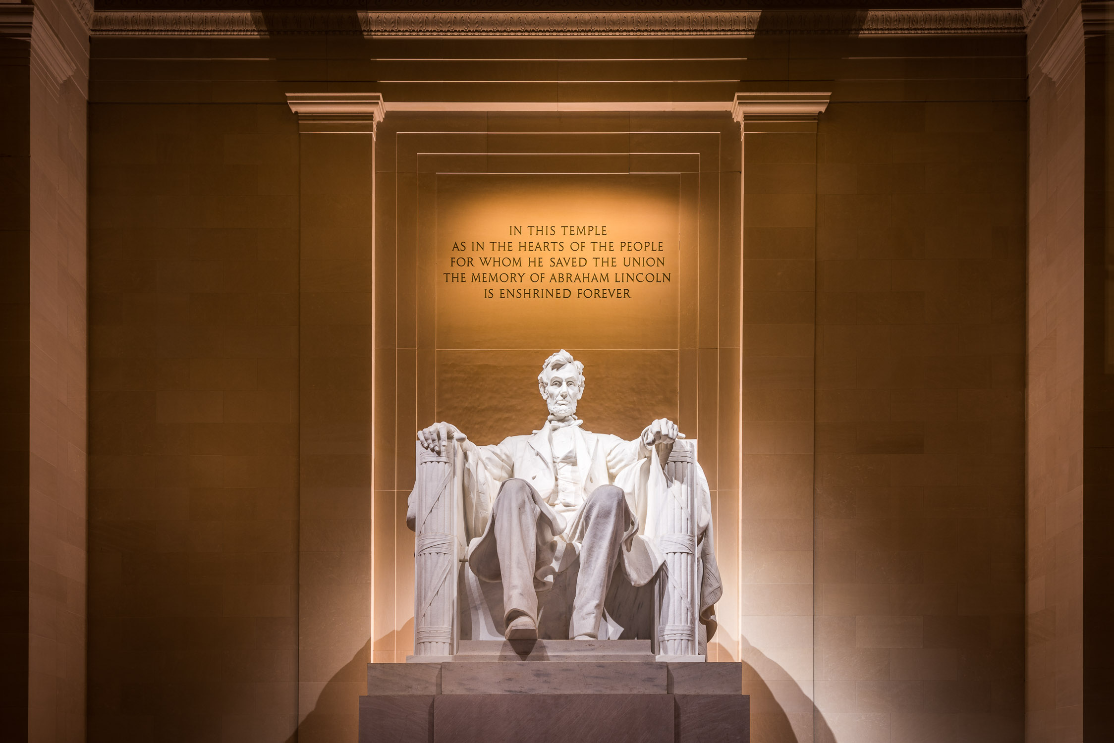 Lincoln Memorial, Washington DC - USA