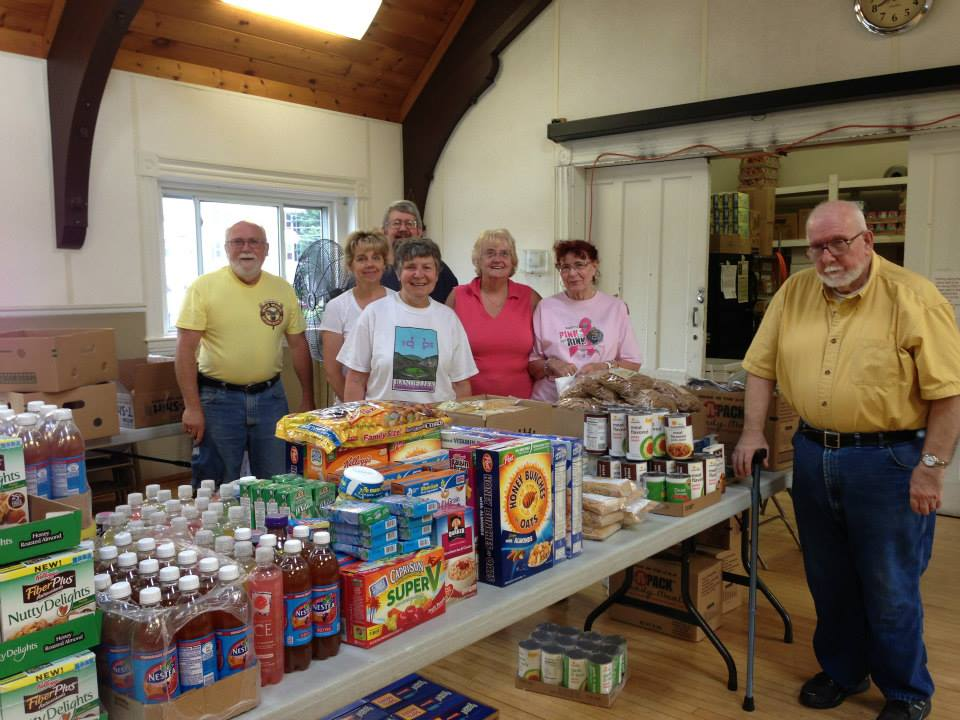 St Andrews Episcopal Church, Manchester NH Food Pantry