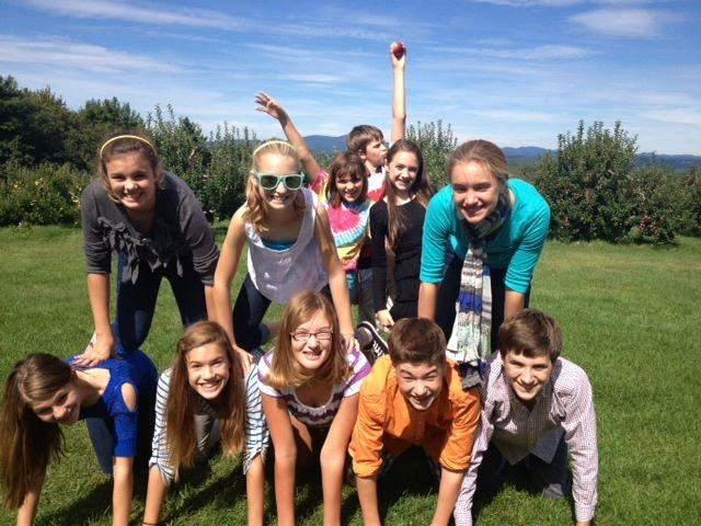 St. Andrew's Episcopal Church, Hopkinton, NH - Youth Group Apple Picking