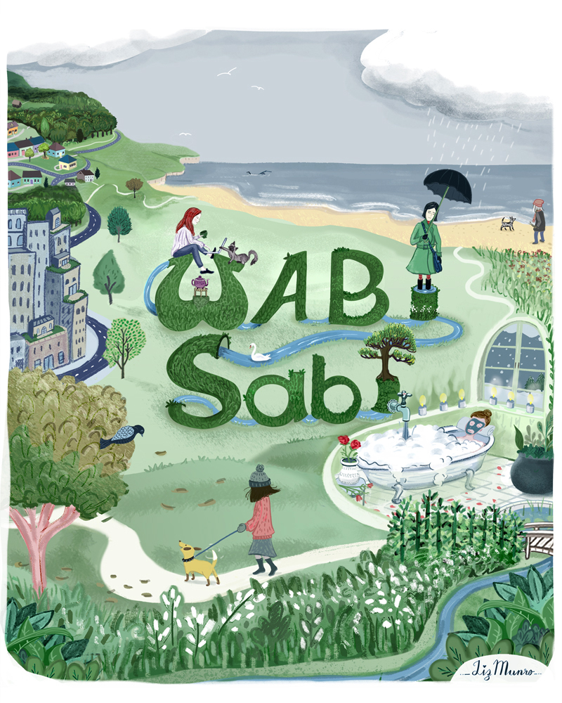 Editorial piece assignment for a book on Wabi Sabi by Beth Kempton