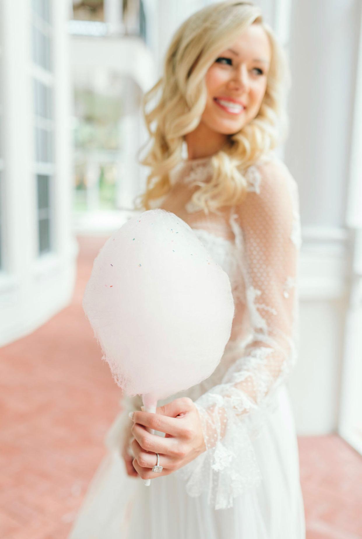 Cotton Candy Bride Orlando