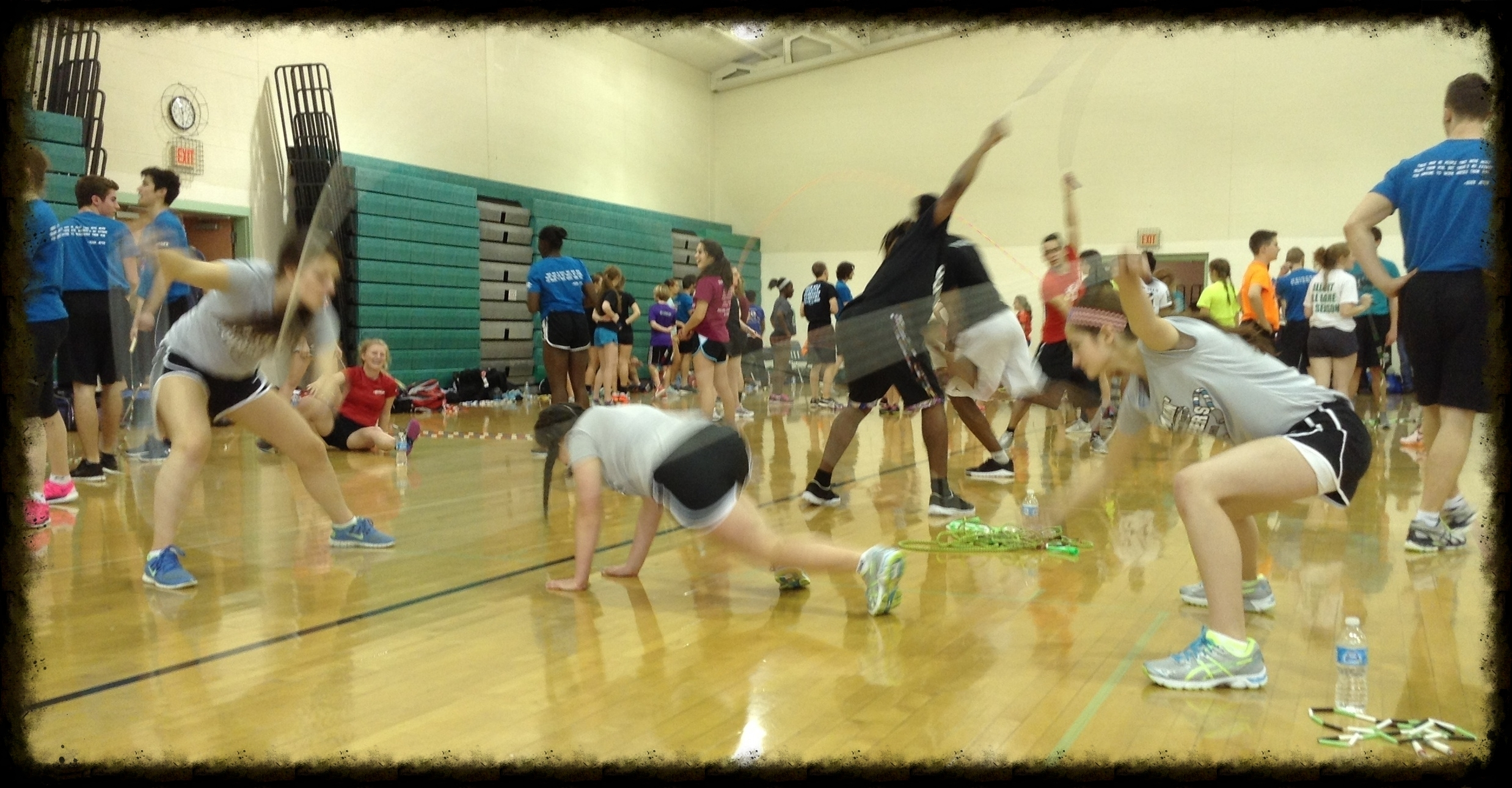 We host the Jammin' Double Dutch Workshop during November in Norton and Wadsworth, OH! Register at    www.amjrf.com   .