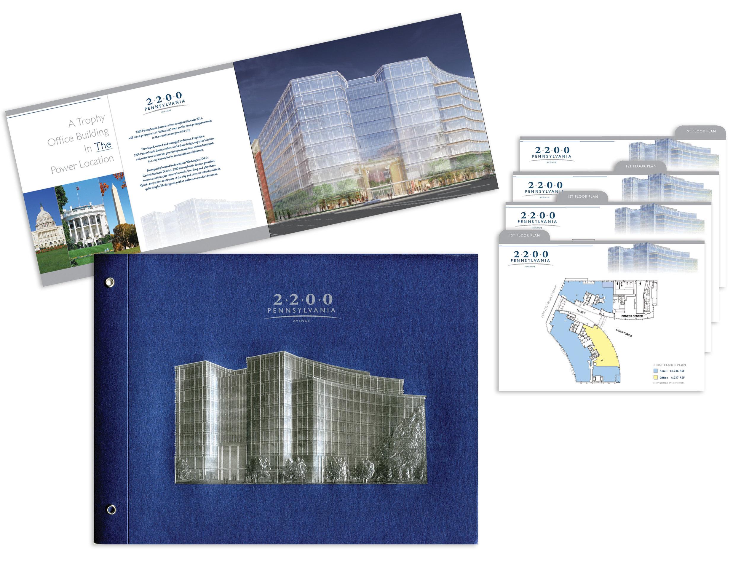 Boston Properties, 2200 Penn. Avenue Leasing Brochure
