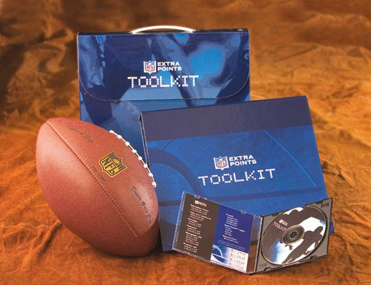 "NFL ""Extra Points"" VISA Rewards Credit Card Toolkit"