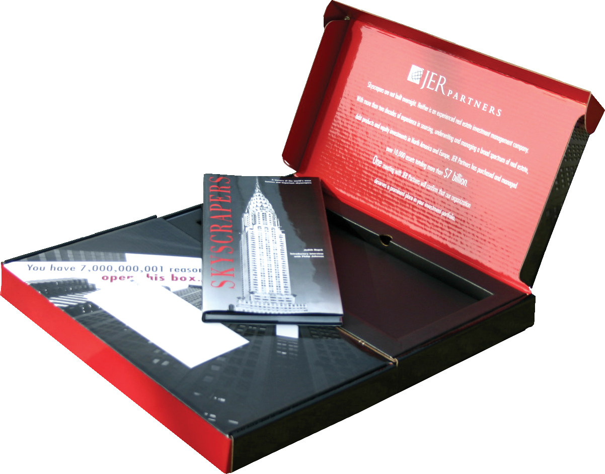 J.E. Robert Companies Dimensional Book Direct Mailer